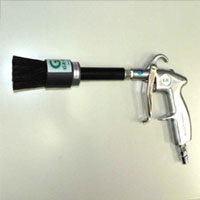 Cleaning Gun with Static Electricity Removal Brush